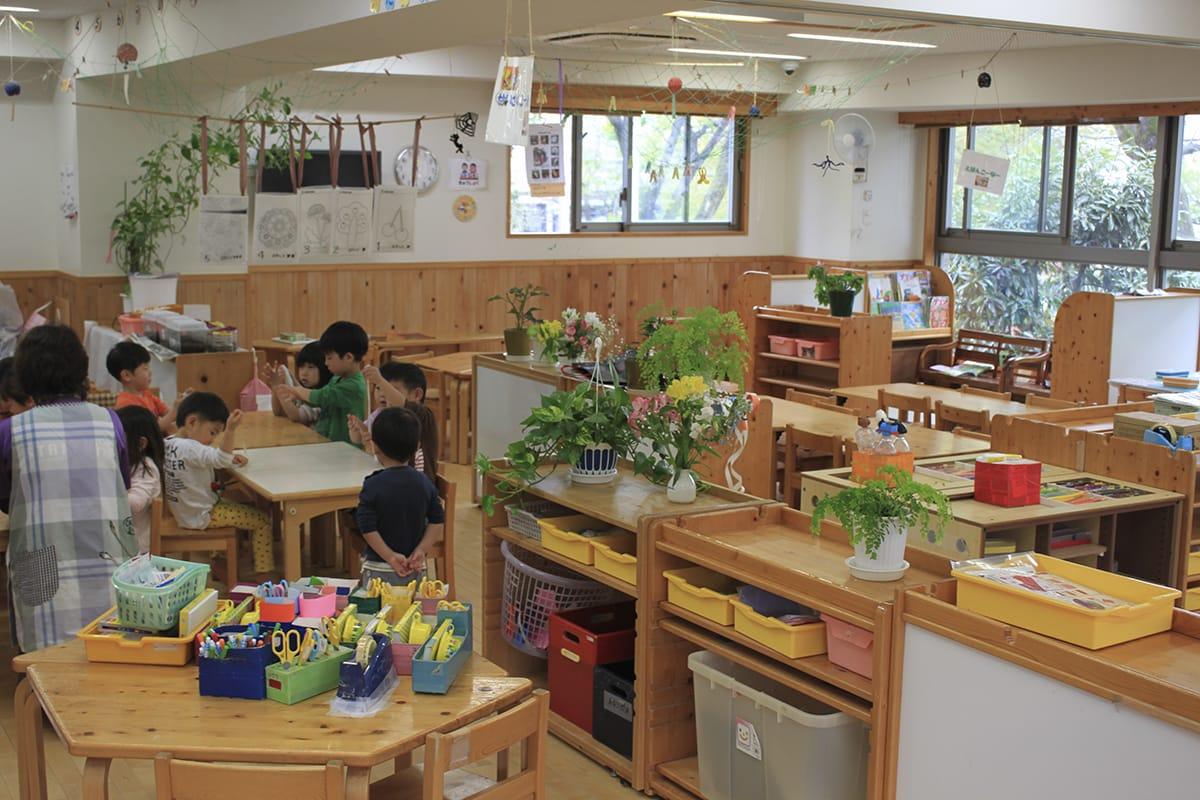 異年齢児保育室